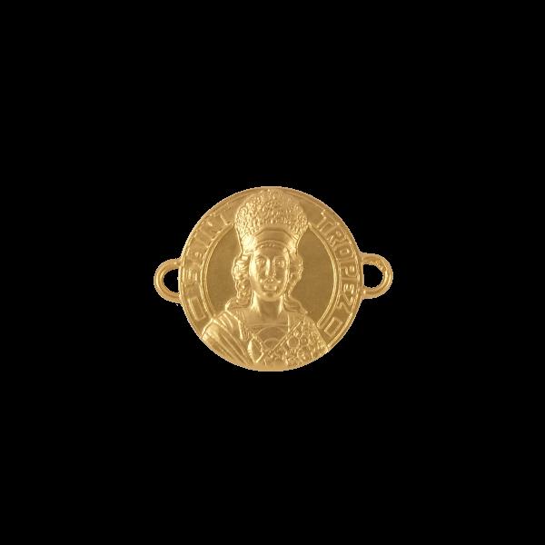 Médaille - Bracelet Or - 15mm - La Médaille de Saint-Tropez