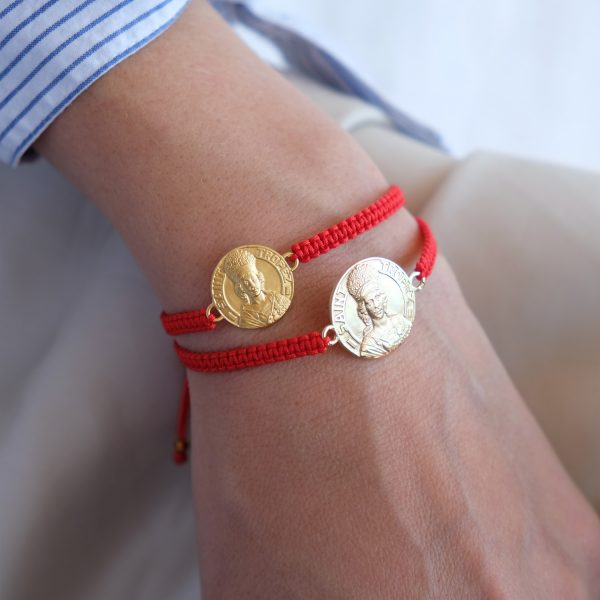 Médaille - Bracelet Or - 18mm - La Médaille de Saint-Tropez